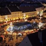 Merg la deschiderea Pieței de Crăciun de la Sibiu