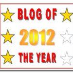 Blogul anului 2012 – Nominalizări ca la Oscar