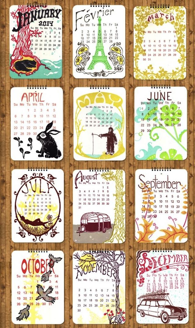 Calendar-wall-2014-610x1024