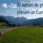 10 lucruri de știut când plănuim un Eurotrip