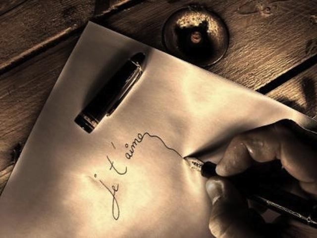 ecrire-lamour