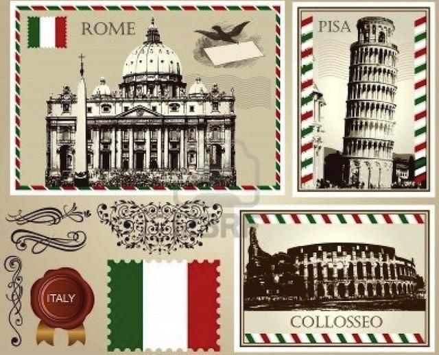 12034818-set-of-italian-symbols