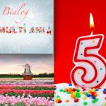 Sărbătorim 5 ani de Bialog (+ Concurs)