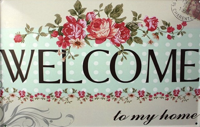 20X30cm-WELCOME-to-my-home-Tin-Sign-font-b-Vintage-b-font-Poster-Wall-Decor-Metal